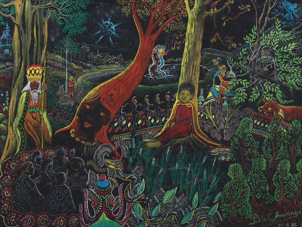 The spirits or mothers of the plants painting