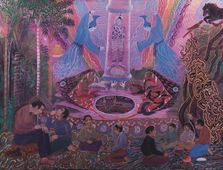 The sublimity of the sumiruna painting