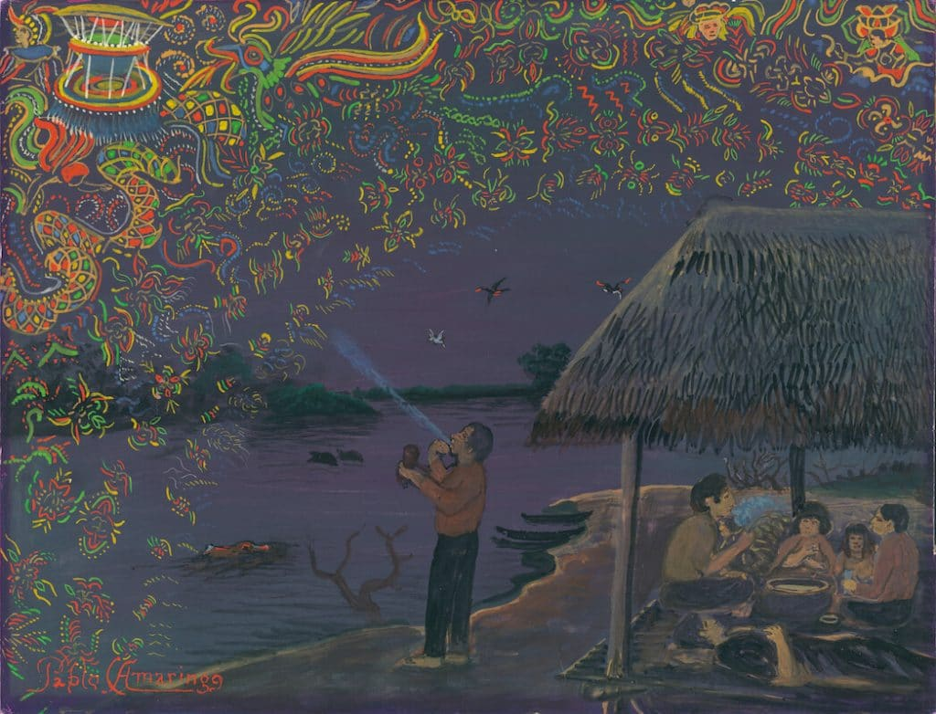 expelling away the visionary world painting